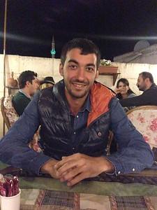 Dinner with new friends - Goreme, Cappadocia, Turkey