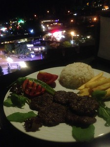 Izgara Kofte @ Viewpoint Cafe - Goreme