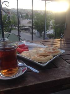 Nice view @ Mydonose Cafe - Goreme
