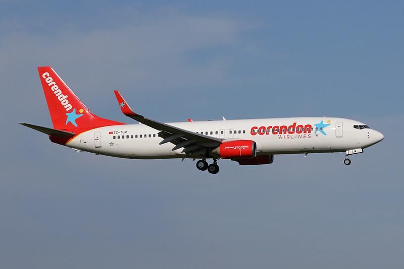 """TC-TJM Boeing 737-8Q8 """"Corendon Airlines"""" c/n 28218 Amsterdam/EHAM/AMS 21-05-18"""