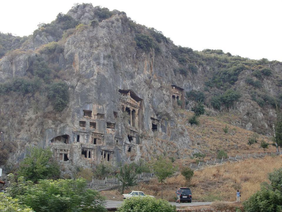 fethiye rock tombs