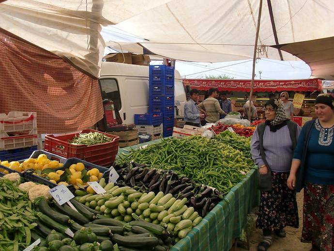 calis fethiye turkey market