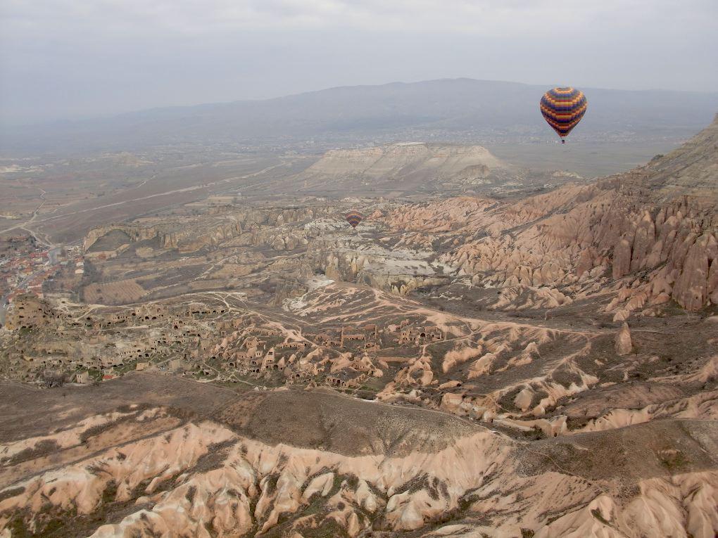 hot air balloon kapadokya turkey
