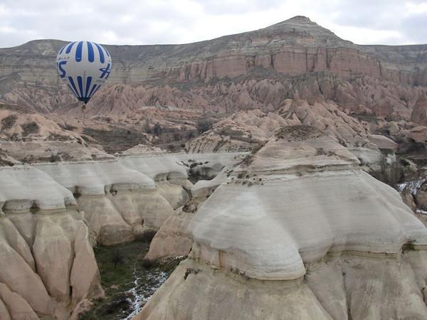 cliffs of cappadocia balloons