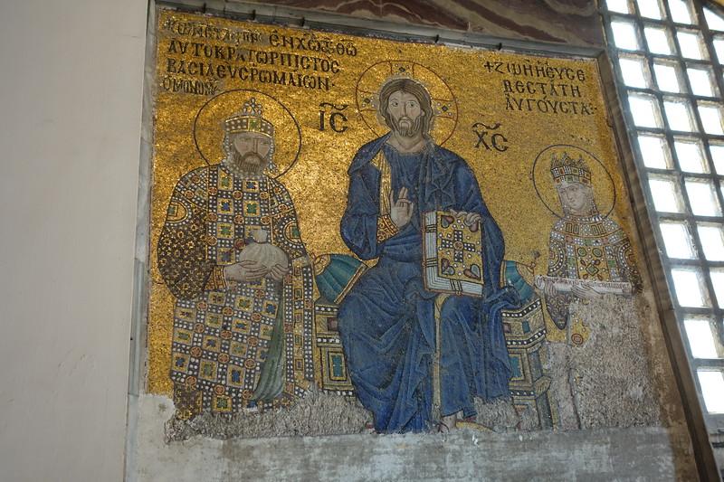 A 14th century mosaic.