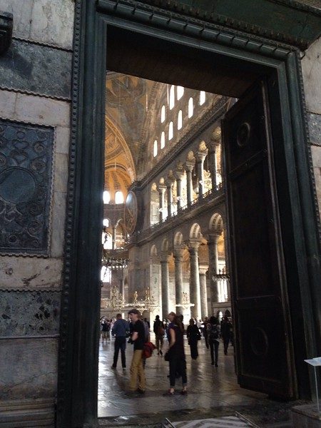 Entry to Hagia Sophia