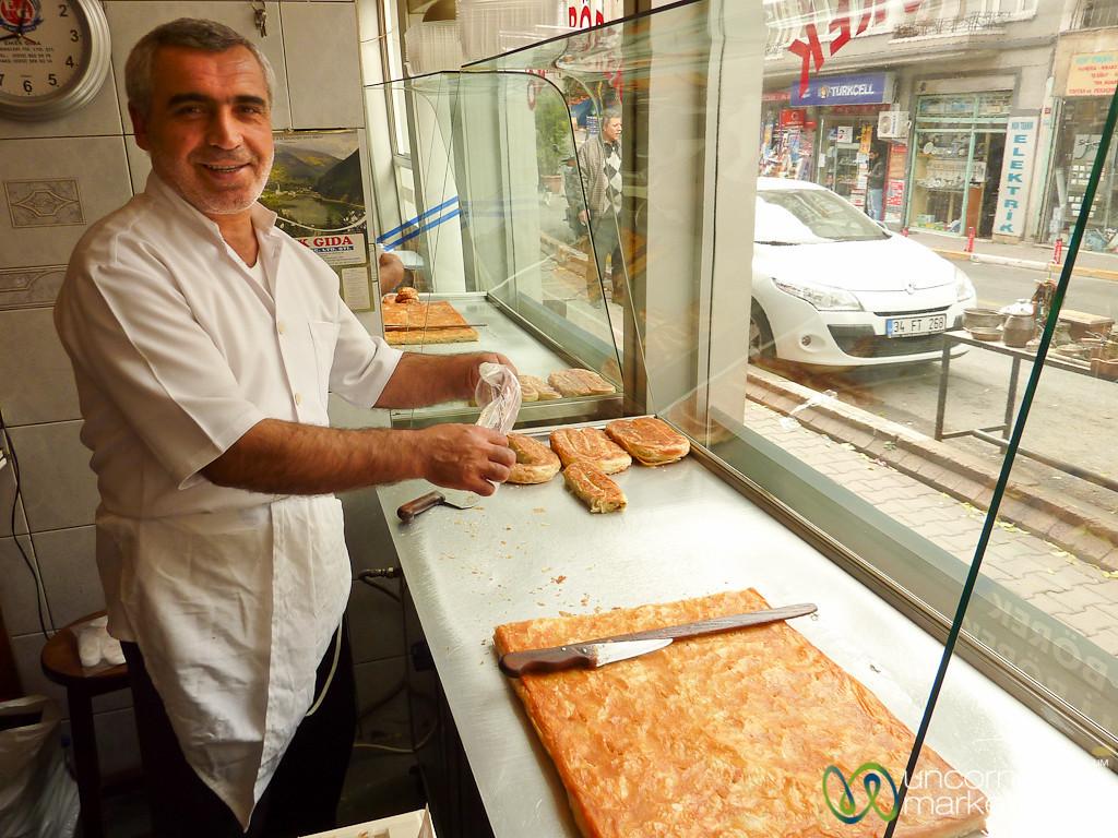 Borek Man of Beyoğlu - Istanbul, Turkey