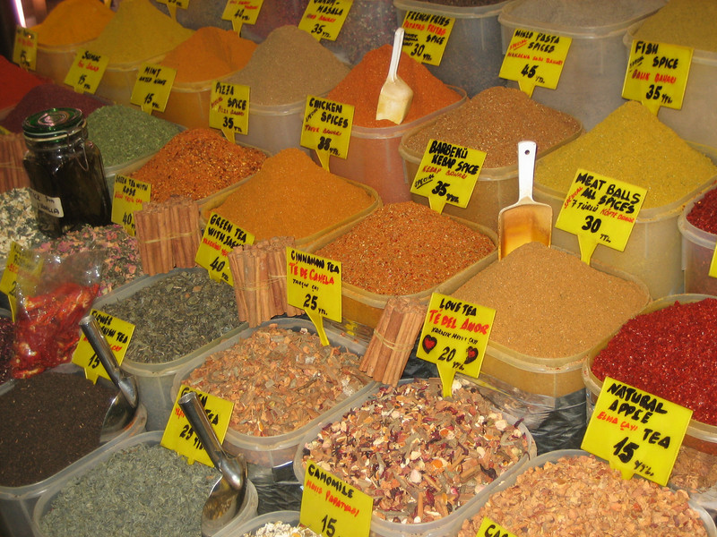 22 Must See Places in Istanbul - Spice Bazaar