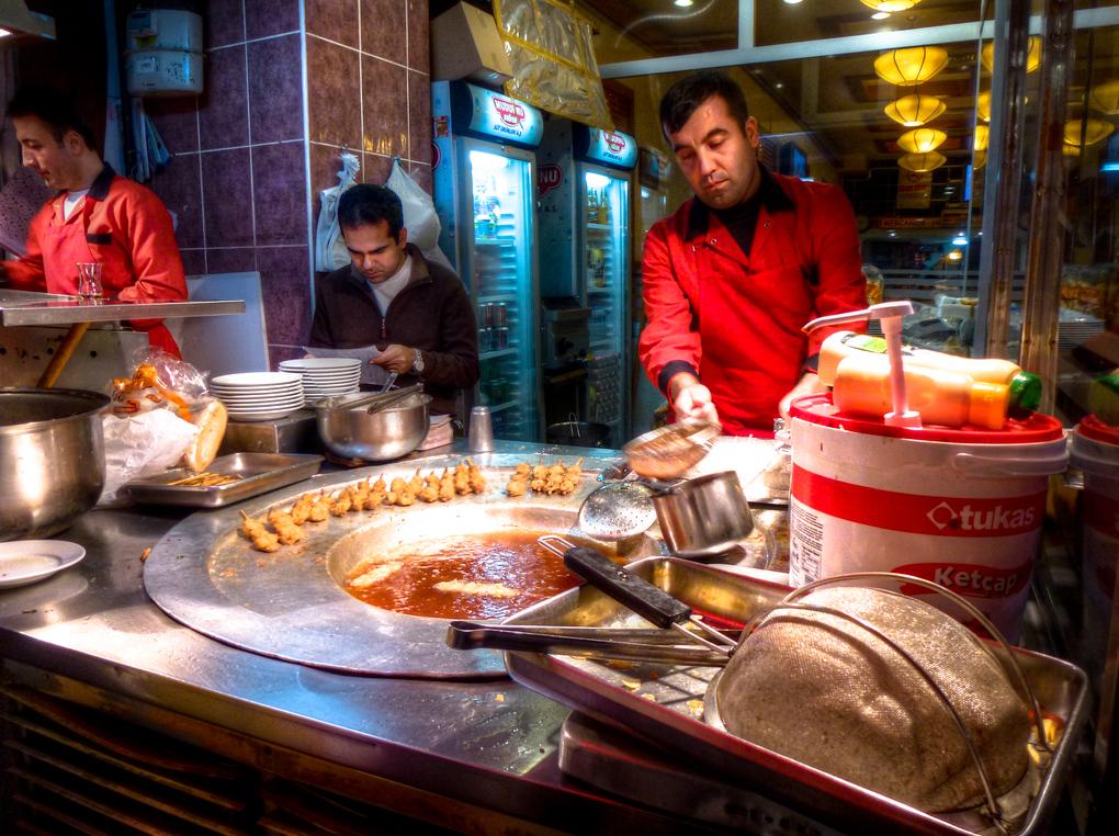 taksim street foods