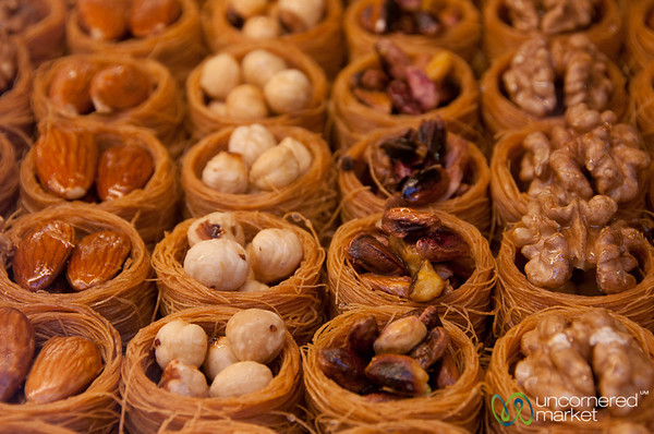 Dessert Nests - Istanbul, Turkey