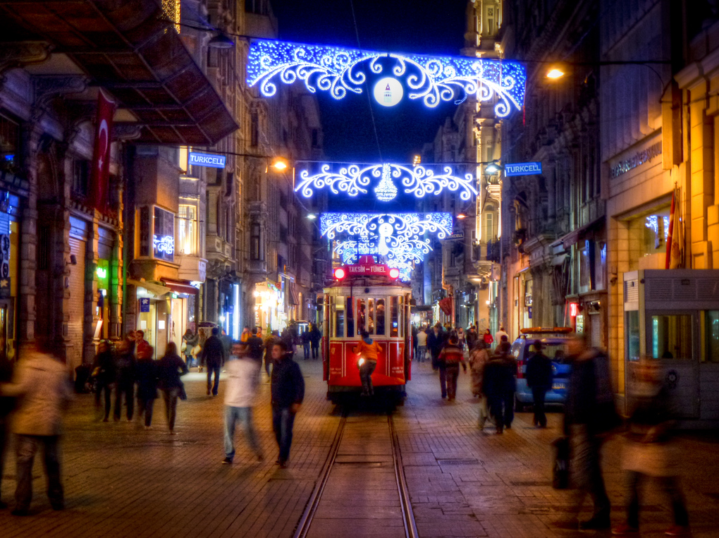 The Bright Artery Of A City: A Photo Essay Of Istanbul's Istiklal Caddesi At Night
