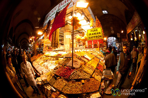 Fisheye at Spice Market - Istanbul, Turkey