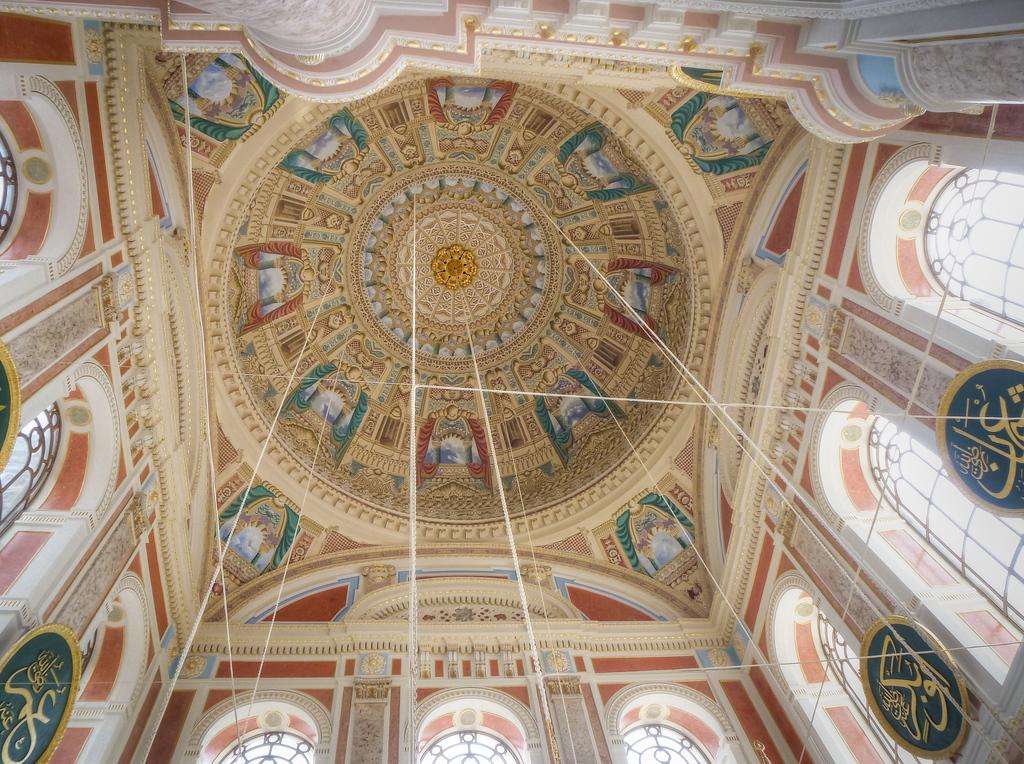 interior ortaköy mosque