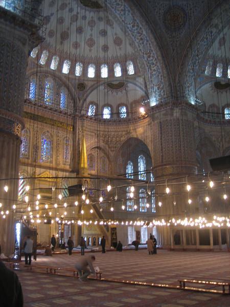 Sultan Ahmet Mosque (Blue Mosque), Istanbul, Turkey