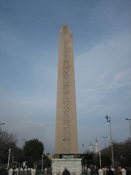 22 Must See Places in Istanbul - Obelisk of Thutmose