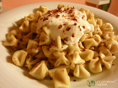 Manti with Yogurt and Sumac - Istanbul, Turkey