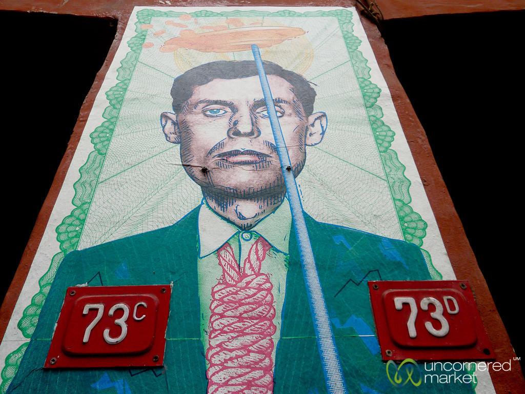 Man with Noose, Istanbul Street Art - Turkey