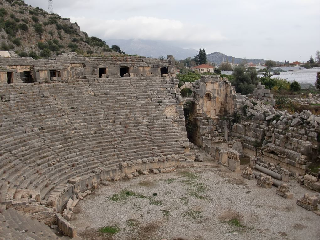 myra theater turkey