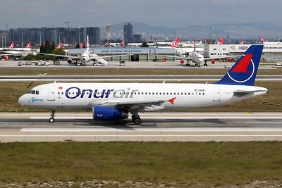 """TC-ODB Airbus A320-232 c/n 0580 Istanbul - Ataturk/LTBA/IST 09-10-18 """"Kemer"""""""