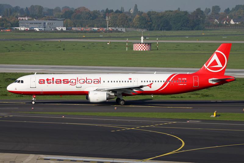 "TC-ATB Airbus A321-211 ""AtlasGlobal"" c/n 1503 Dussledorf/EDDL/DUS 18-10-15"