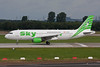 "TC-SKJ Airbus A320-211 ""Sky Airlines"" c/n 0138 Dusseldorf/EDDL/DUS 03-08-08"