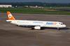 """TC-TUC Airbus A321-131 """"BestAir"""" c/n 0614 Dusseldorf/EDDL/DUS 24-08-08"""