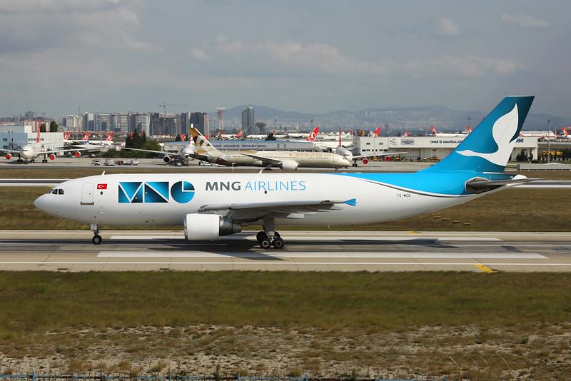 "TC-MCC Airbus A300B4-622R ""MNG Airlines"" c/n 734 Istanbul - Ataturk/LTBA/IST 09-10-18"