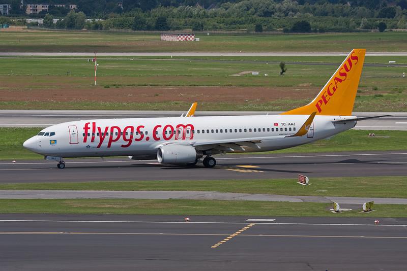 """TC-AAJ Boeing 737-82R """"Pegasus Airlines"""" c/n 35702 Dusseldorf/EDDL/DUS 19-07-09"""