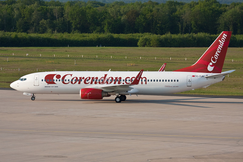 "TC-TJH Boeing 737-86J ""Corendon Airlines"" c/n 29121 Cologne-Bonn/EDDK/CGN 23-05-10"