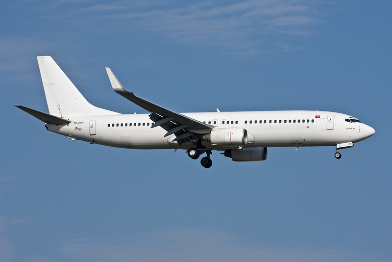 "TC-SGF Boeing 737-83N ""Saga Airlines"" c/n 28249 Istanbul-Ataturk/LTBA/IST 15-09-09"