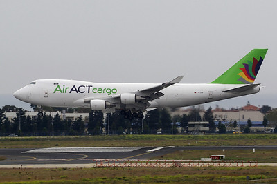 "TC-ACR Boeing 747-428ERF ""ACT Airlines"" c/n 32866 Istanbul - Ataturk/LTBA/IST 11-10-18"