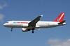 """ES-SAK Airbus A320-214 """"SmartLynx Estonia"""" c/n 0888 Brussels/EBBR/BRU 06-06-15 """"Corendon Airlines"""""""
