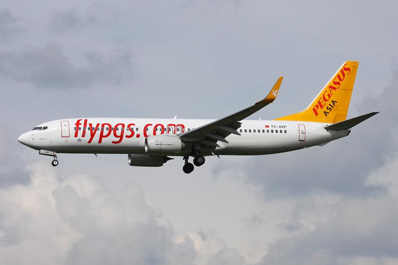 """TC-AVP Boeing 737-82R """"Pegasus Airlines Asia"""" c/n 38175 Brussels/EBBR/BRU 25-03-14 """"Asia"""""""