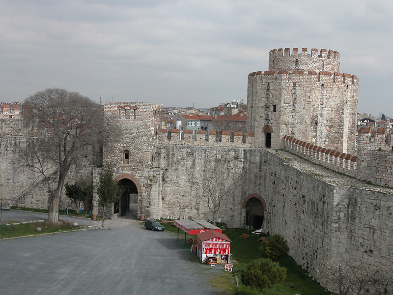 22 Must See Places in Istanbul - Yedikule (Fortress of the Seven Towers)