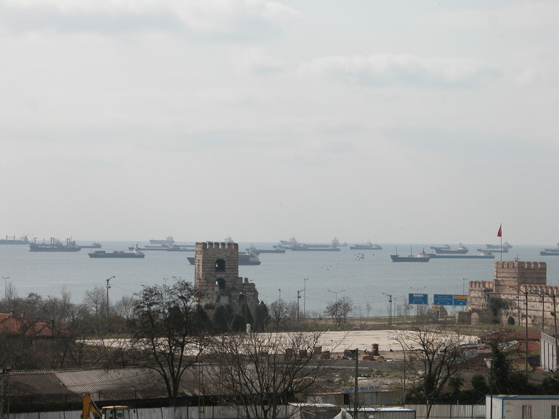 22 Must See Places in Istanbul - view from Yedikule (Fortress of the Seven Towers)