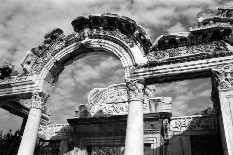 Temple of Hadrian - Ephesus, Turkey