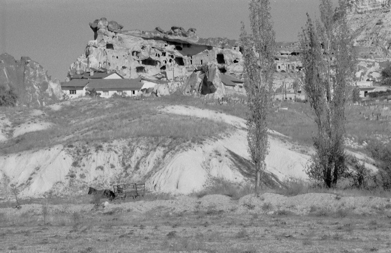 Ancient Cave Dwellings - Cappadocia, Turkey