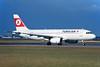 "EI-TLG Airbus A320-231 ""TransAer"" c/n 0428 Frankfurt/EDDF/FRA 08-06-07 ""Turkish Airlines"" (35mm slide)"