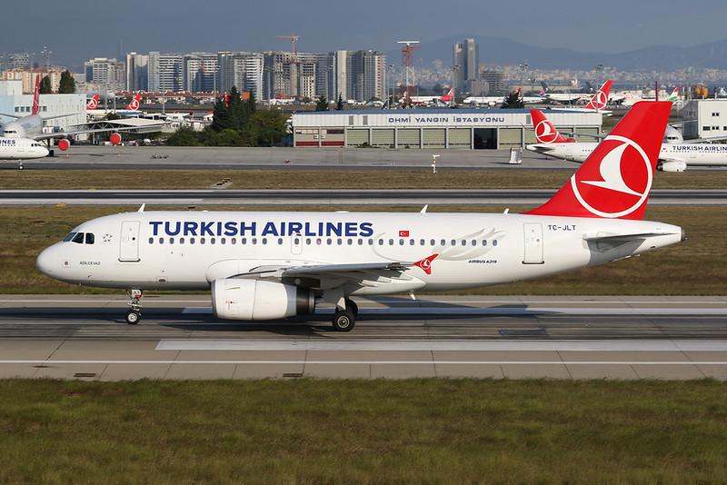 TC-JLT Airbus A319-132 c/n 4665 Istanbul - Ataturk/LTBA/IST 09-10-18