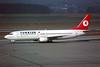 TC-JEU Boeing 737-4Y0 c/n 26078 Geneva/LSGG/GVA 09-03-96 (35mm slide)