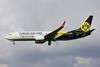 "TC-JHU Boeing 737-8F2 c/n 42002 Brussels/EBBR/BRU 25-03-14 ""Borussia Dortmund"""