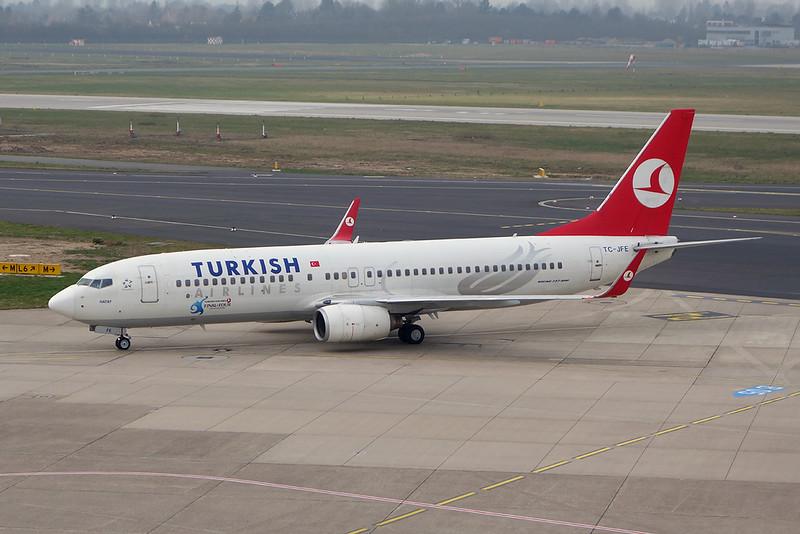 "TC-JFE Boeing 737-8F2 c/n 29767 Dusseldorf/EDDL/DUS 05-03-14 ""Final Four"""