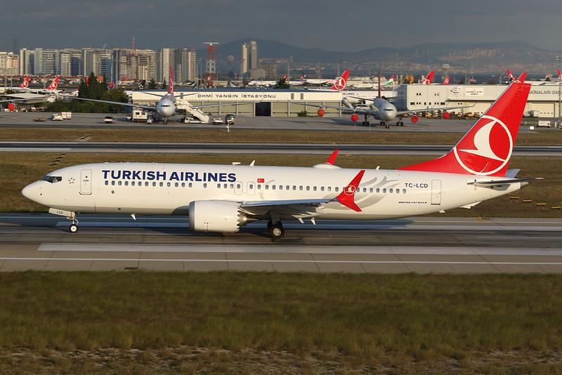 TC-LCD Boeing 737-8MAX c/n 60035 Istanbul - Ataturk/LTBA/IST 09-10-18