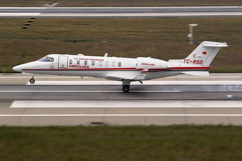 TC-RSD Learjet 45 c/n 45-453 Istanbul -Ataturk/LTBA/IST 11-10-18