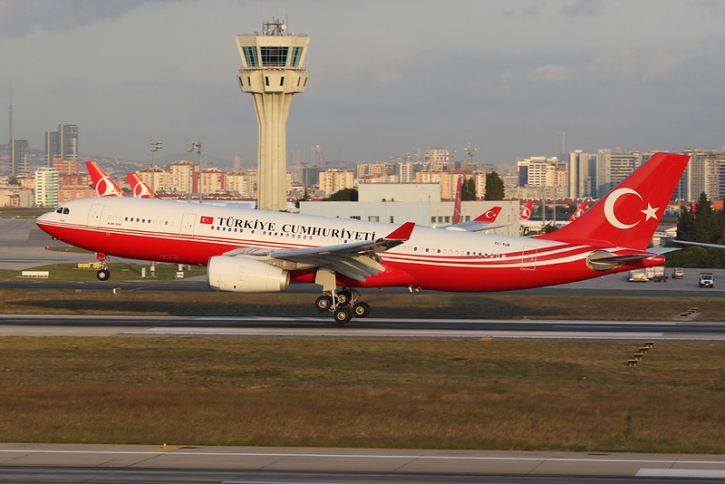 "TC-TUR Airbus A330-243 ""Turkish Government"" c/n 1240 Istanbul - Ataturk/LTBA/IST 09-10-18"