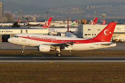 """TC-ANA Airbus A319-115XCJ """"Turkish Government"""" c/n 1002 Istanbul - Ataturk/LTBA/IST 09-10-18"""