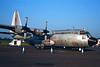 """13187 Lockheed C-130E Hercules """"Turkish Air Force"""" c/n 4012 Fairford/EGVA/FFD 25-07-99 (35mm slide)"""