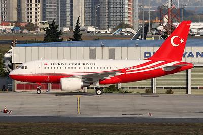 """TC-ANK Airbus A318-112CJ """"Turkish Government"""" c/n 3751 Istanbul - Ataturk/LTBA/IST 09-10-18"""