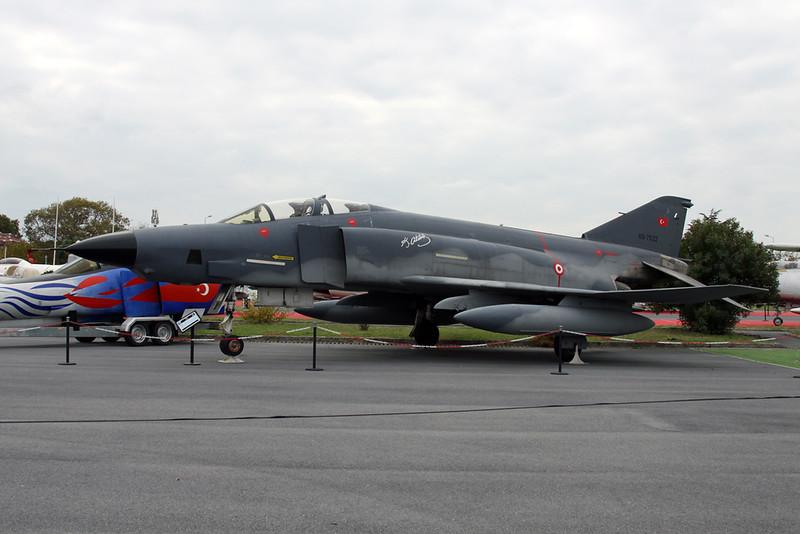69-7522 McDonnell-Douglas RF-4E/TM Phantom II c/n 4171 Istanbul-Ataturk/LTBA/IST 09-10-18