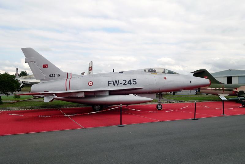 54-2245 (FW-245) North American F-100D Super Sabre c/n 223-125 Istanbul-Ataruk/LTBA/IST 09-10-18